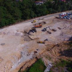 Izgradnja Sortirnice otpada lipanj 2021